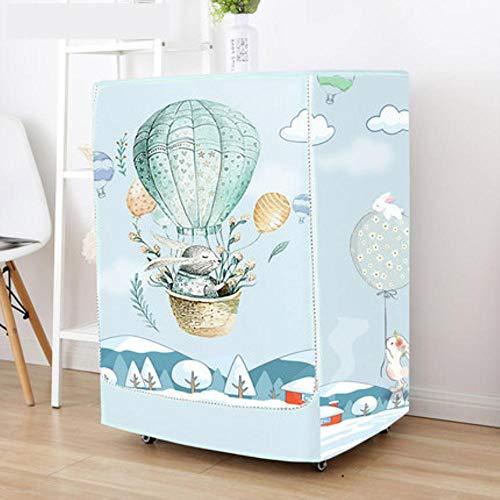 Qingsb Waterproof Printing Case voor wasmachine Oxford doek Zonnebrandcrème Wasmachine Wasmachine Beschermhoes, AI, 60x65x85cmXL