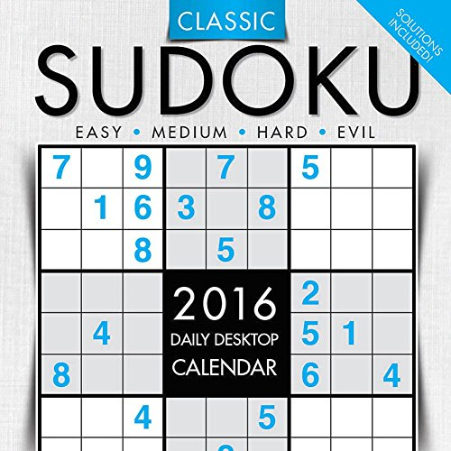 Sudoku Desk Calendar by TF Publishing 2016