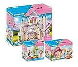 PLAYMOBIL Palacio de ensueño con niños reales, 3 piezas: 9879 9889 9890