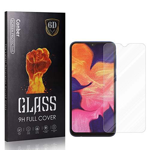 Conber Panzerglasfolie für Samsung Galaxy A10, [1 Stück] 9H gehärtes Glas, Blasenfrei, Kratzfest, Hochwertiger Hülle Freundllich Panzerglas Schutzfolie für Samsung Galaxy A10