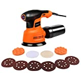 EnerTwist Random Orbit Sander - 5 Inch Variable Speed 2.4A...