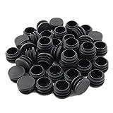 Pies DealMux de muebles de plástico antideslizante Fin Presidente Tapón obturador Piernas Consejo Covers 40pcs tubo insertado