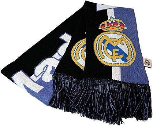 Icon Sports Real Madrid Officially Licensed Product Soccer Scarf - 1-3