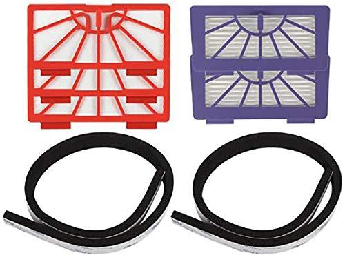 CNOP Kit d'accessoires pour aspirateur Neato Botvac série D D75 D80 D85 Botvac 65 70e 75 80 85 Series Filtre HEPA Brosse latérale de rechange (taille : série XV).