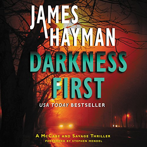 Darkness First audiobook cover art