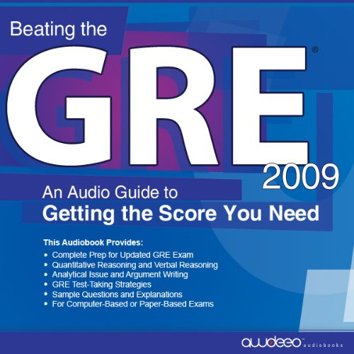 Beating the GRE 2009 cover art