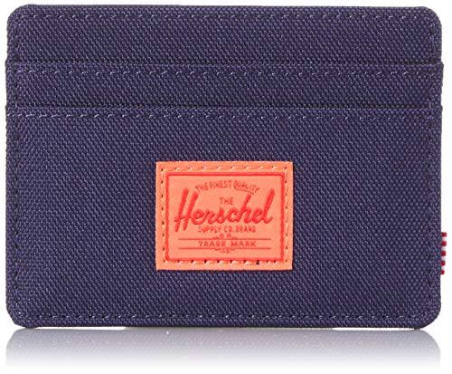 Herschel Charlie RFID Peacoat/Hot Coral