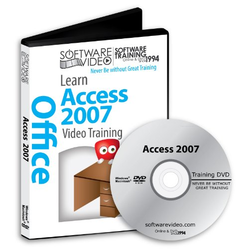 Software Video Learn Access 2007 Training DVD Sale 60% Off training video tutorials DVD Over 5 Hours of Video Training