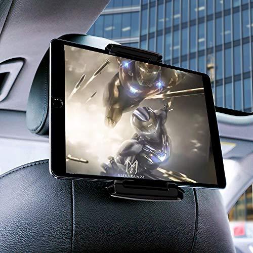 """Supporto per tablet per auto, supporto per poggiatesta per auto - Supporto universale per seggiolino auto girevole a 360 ° per tutti i tablet da 5,5~13"""", iPad Pro, iPad Air, Huawei MediaPad, ecc."""