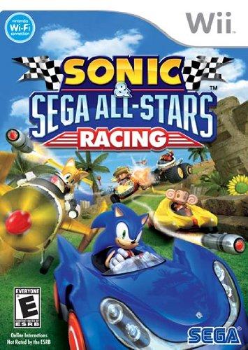 SEGA Sonic & All-Stars Racing, Wii - Juego (Wii, Nintendo Wii, Racing, E10 + (Everyone 10 +))