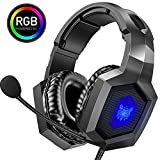 ONIKUMA Gaming Headset - Stereo K8 Gaming Headset for PS4 Xbox One, Noise