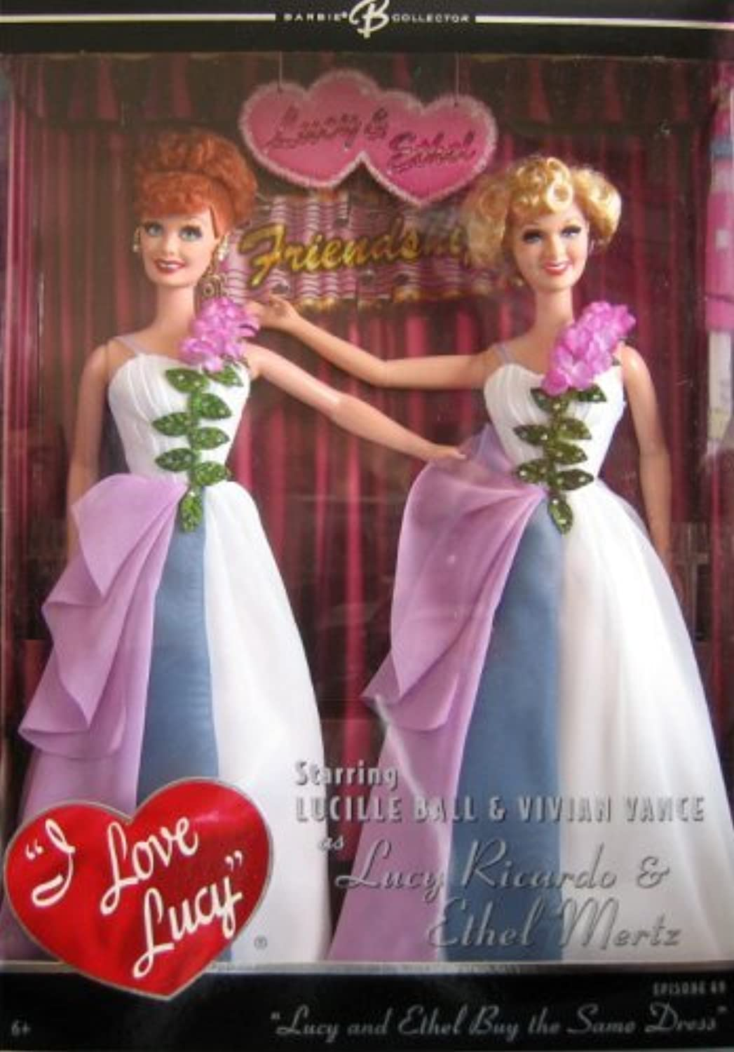 Mattel Barbie K8670 Lucy and Ethel Buy the Same Dress Doll