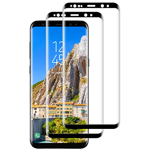 SNUNGPHIR Protector de Pantalla para Samsung Galaxy S9 Plus Protector [2 Pack],Cristal Templado para Galaxy S9 Plus, [3D Cobertura Completa] [Sin Burbujas] Vidrio Templado para Galaxy S9 Plus