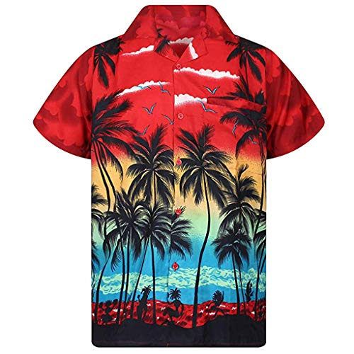 SSYUNO Casual Button Plus Size Linen Tops for Women Vintage Boho Floral Loose Shirt Blouse