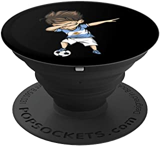 Dabbing Soccer Argentina Jersey - Argentinian Football PopSockets Grip and Stand for Phones and Tablets