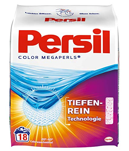 Persil Color Megaperls, 1er Pack (1 x 18 Waschladungen)