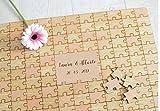 Cuadros de firmas para bodas tipo puzzle. Libro de invitados. Personalizado. Para novia o novio, el o ella. REgalo para celebraciones.SELLO A JUEGO disponible.