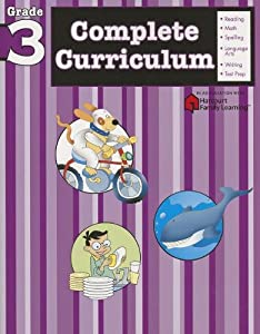 Complete Curriculum: Grade 3 (Flash Kids Harcourt Family Learning)