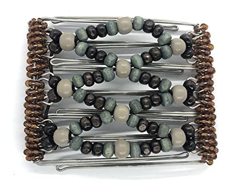 Original un clip 9 broches en acier inoxydable Peignes Environ 10 cm