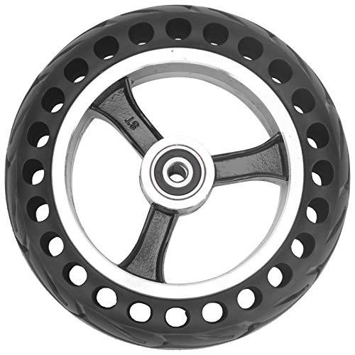 SALUTUY Neumático para Patinete de 8 Pulgadas, patín de Rendimiento Antideslizante Rueda...