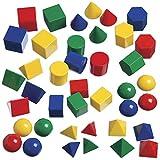 edxeducation Mini Geometric Solids - Set of...
