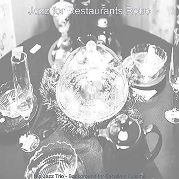 Hip Jazz Trio - Background for Excellent Cuisine