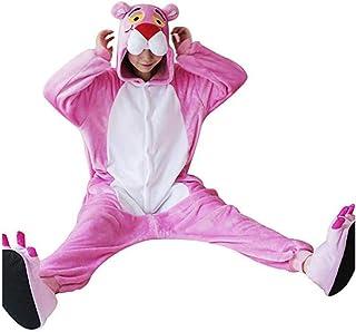 33150f0b0c20a Pyjama Leopard Rose Unisexe Costume d'halloween Cosplay Pyjama Animal  One-Piece Animal,