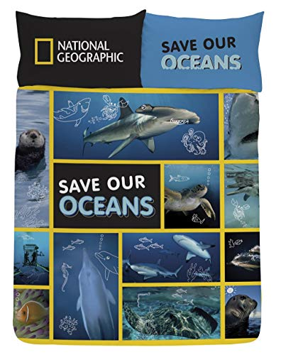 National Geographic Bedding for kids and adults, Reversible Single & Double...