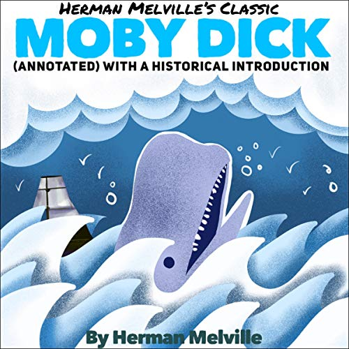 Herman Melville's Classic: Moby Dick cover art