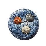 Unicoco Hund quietschende Spielzeug Hamster Design-Interactive Hundespielzeug Große Verstecken...