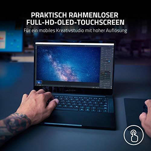Razer Blade Stealth 13: Das 1. Gaming Ultrabook der Welt mit 13.3'' OLED Touch, Intel Core 7 11th Gen Tigerlake, NVIDIA GeForce GTX 1650 Ti, 16 GB RAM, Chroma RGB Beleuchtung | Qwertz DE-Layout