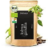 Ashwagandha Pulver Bio 250g fein gemahlen u. Laborgeprüft | Schlafbeere (Withania Somnifera) aus biologischem Anbau | Echter Indischer Ginseng vielseitig einsetzbar | Vegan 100% natürlich