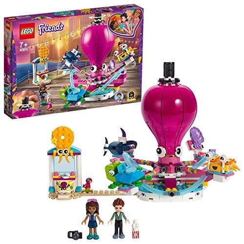 LEGO Friends - Pulpo Mecánico, Juguete Divertido de Construcción Giratorio para Niñas y Niños de más de 7 Años con Mini Muñeca de Andrea (41373)