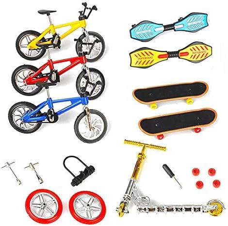 Jouets Finger Mini Skateboard Planche192; Roulettes Skate Park Kit Finger Toys Set Avec Des Parcs De Rampes Pour Finger Sports
