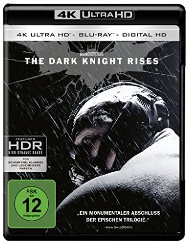 The Dark Knight Rises (4K Ultra HD + 2D-Blu-ray) (2-Disc Version)  [Blu-ray]