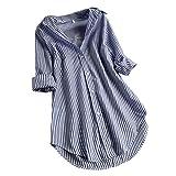LANSKRT Camisetas Mujer Talla Grande Blusas Verano Elegantes...