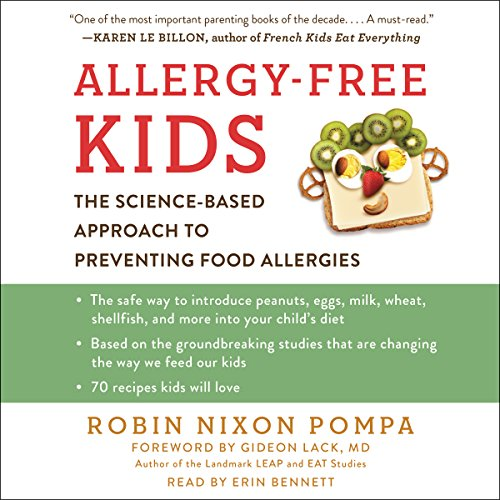 Allergy-Free Kids audiobook cover art