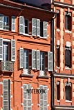 Toulouse Notebook: blank lined composition journal   Toulouse notebook   100 pages (French Edition)