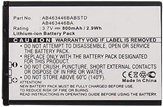 Synergy Digital Cell Phone Battery, Works with Samsung AB553446BA Cell Phone, (Li-ion, 3.7, 800mAh) Ultra High Capacity Ba...
