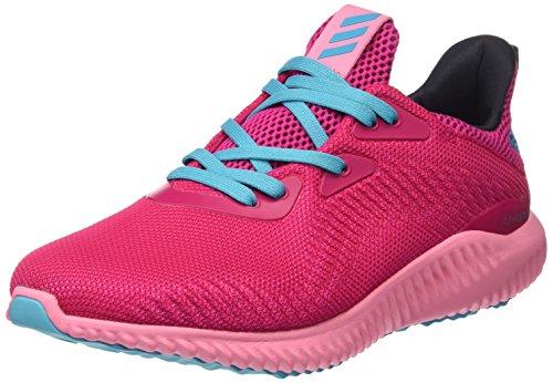 adidas Alphabounce J deportivaspara Kinder, Pink–(rosfue/Rossen/azuene),-4