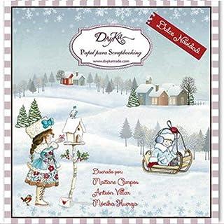 Dayka Trade Kit de Scrapbooking Noël 20 x 20 cm