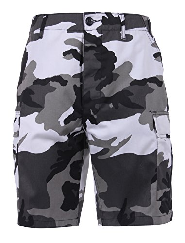 Rothco Tactical BDU (Battle Dress Uniform) Military Cargo Shorts, City Camo, L