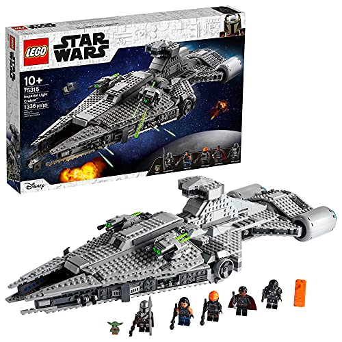 LEGO Star Wars Imperial Light Cruiser 75315 Awesome Toy Building Kit for Kids, Featuring 5...
