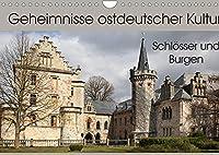 """Geheimnisse ostdeutscher Kultur - Schloesser und Burgen (Wandkalender 2022 DIN A4 quer): Wenn es in Deutschland ein """"Schloesser- und Burgenland"""" gibt, dann liegt das in Thueringen, aber auch in Sachsen-Anhalt. (Monatskalender, 14 Seiten )"""