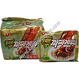 農心 チャパゲッティ(ジャジャン麺) 1パック(140g×5袋入り)