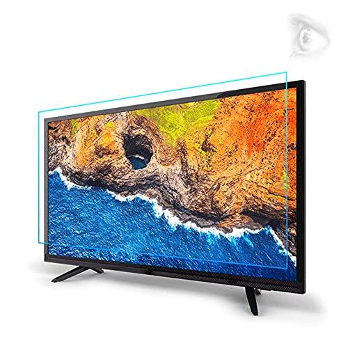 JANEFLY Protector de Pantalla de TV de luz Anti-Azul de 32-75 Pulgadas, película de protección de Ojos no deslumbramiento/Anti arañazos para LCD, LED, OLED & QLED 4K HDTV,43'(942 * 529mm)