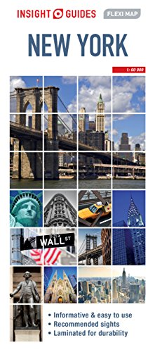Insight Guides Flexi Map New York City (Insight Flexi Maps)