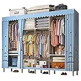 Closet Storage Closet Clothes Portable Armarios de pie Armario de guardarropa Closet Ropa portátil Armario Armario Organizador Estante Ropa de vestuario Closet Wardrobe Closet Organizer Shelf Wardrobe