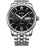 Best BUREI Automatic Watches - BUREI Men Women Watches Automatic Watch Classic Quartz Review