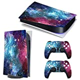 3CTOP High Qulaity Sticker Skin Protector Decals for PS5 Playstation 5 Console and 2 Controllers 14#